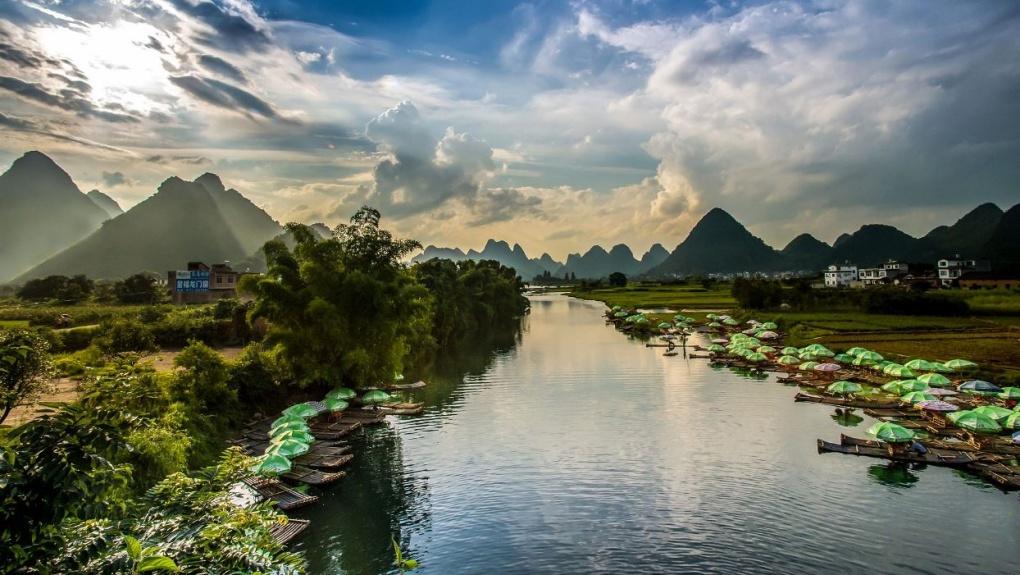 Вокруг света: река Ли, Китай